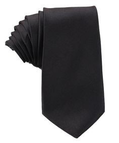 Men's style can be crisp and classic with this solid black neck tie from H-Bomb Ties. The plain black color is easy to match with any outfit. No matter if your event is a wedding, a party, a business meeting, or more, the simple black tie is versatile enough to work in any situation. Black Tie Formal, Black Bow Tie, Black Pocket Square, Black Neck, Suit Up, Suit Accessories, Satin, Skinny Ties, Well Dressed Men