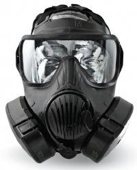Commercial/civilian version of the new JSGPM/M50 gas mask to survive against NBC weapons.