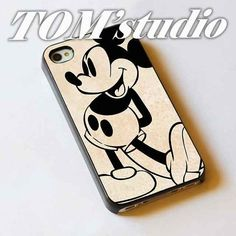 Mickey mouse old disney Case for iphone and Samsung Galaxy case on Etsy, Iphone Cases Disney, Iphone 5c Cases, Diy Phone Case, Cute Phone Cases, 5s Cases, Iphone 4, Samsung Galaxy S3, Arduino, Old Disney