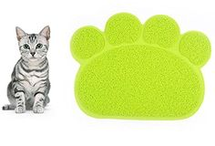 Anti Bite pad Antislip mat Mat PVC Waterproof Elastic High Quality in Paw Shape Mat for Litter Box For Cats Dogs puppies Size 30  40CM >>> Learn more by visiting the image link.