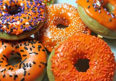 Baked Pumpkin Donuts | Created by Diane