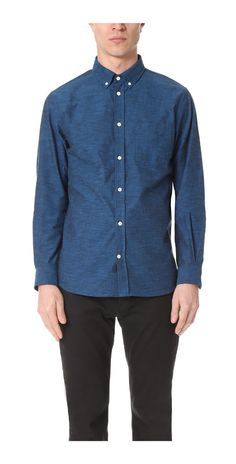 Norse Projects Anton Chambray Shirt   EAST DANE  