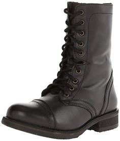 Steve Madden Women's Tropa2-0 Combat Boot, Black Leather, 5.5 M US Steve Madden http://www.amazon.com/dp/B00RET7ETK/ref=cm_sw_r_pi_dp_6vi4vb10JBXRS