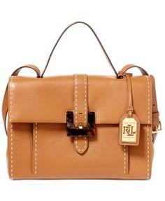 Lauren Ralph Lauren Heyworth Carson Satchel Handbags   Accessories - Macy s 0814e4cb7c2