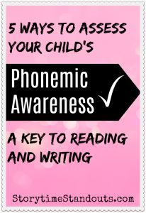 Phonemic Awareness is a key skill for children who are learning to read and write. 5 ways to quickly and easily assess your child's phonemic awareness. Kindergarten Literacy, Early Literacy, Reading Activities, Reading Skills, Rhyming Pictures, How To Teach Kids, Good Readers, Phonological Awareness, Printable Letters