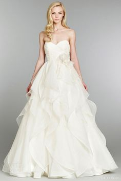 Hayley Paige Fall 2013 Wedding Dresses | Wedding Inspirasi