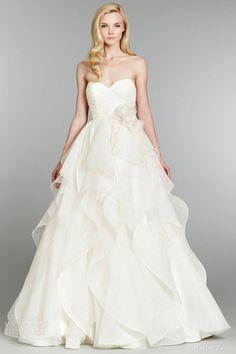 Hayley Paige Fall 2013 Wedding Dresses | Wedding Inspirasi