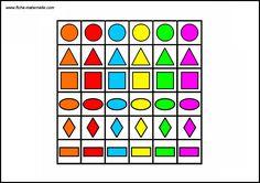 Etiquettes à découper pour le jeu Preschool Worksheets, Fun Math, Preschool Activities, Oral Motor Activities, Sudoku, Numbers For Kids, File Folder Games, Tracing Worksheets, Sensory Play