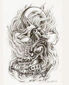 tattoo stencil egyptian - Recherche Google