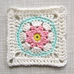 Flower Square Tutorial VII