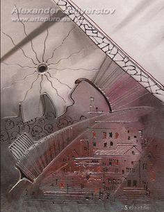 Abstracto. Alexander Seliverstov.  Juego con plutonio al nucleo!!