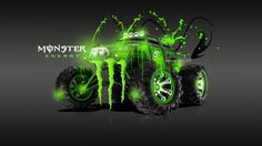 Exceptionnel Monster Energy Traxxas Summit Fantasy Acid Car 2013   Monster Energy Toyota  Supra Fantasy Plastic Energy Fantasy Acid BMW Energy Kawasaki Fantasy Acid  ...