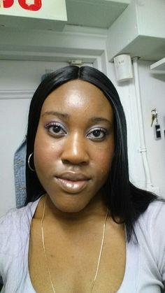 Work flow makeup, went light today