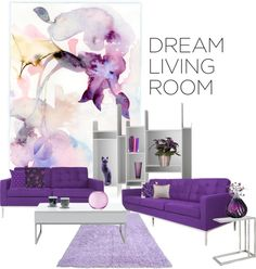 """Dream Living Room"" by melody-renfro-goldsberry on Polyvore"