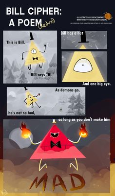 bill+cipher+comics | BILL CIPHER: A POEM (Redux) by PenCompany on DeviantArt