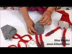 Adorno  navideño #5  /COMO HACER GNOMOS DIY/ Felted Gnomes  Gnomos de fieltro - YouTube