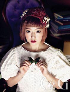 Park Shin Hye CéCi Korea Magazine April 2011