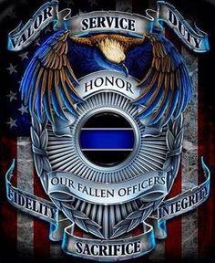 Fallen law enforcement officers