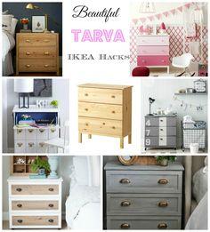 Ikea Hacks – Tarva Drawers