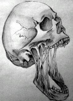 Horror skull by Angeli7.deviantart.com on @deviantART