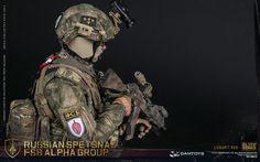 DAMTOYS : RUSSIAN SPETSNAZ FSB ALPHA GROUP (LUXURY VER)