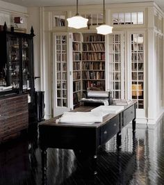 Reading room / home library