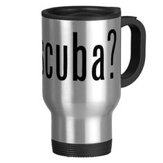 Take your drink of choice on the go with travel mugs and thermal tumblers! Keep your coffee or tea warm as you go from place to place. Gifts For Scuba Divers, Travel Mug, Tumbler, Cool Designs, Tea, Mugs, Tableware, Dinnerware, Drinkware