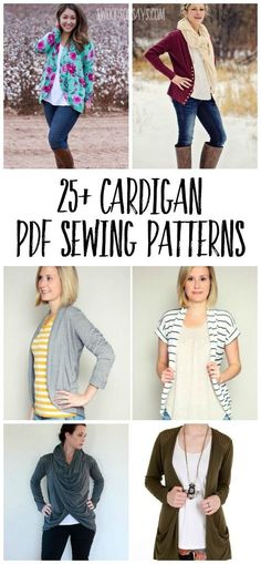 cardigan patterns to sew Check out this huge list of PDF sewing patterns for cardigans! Perfect fall layers and sewing patterns for women.Check out this huge list of PDF sewing patterns for cardigans! Perfect fall layers and sewing patterns for women. Easy Sewing Projects, Sewing Projects For Beginners, Sewing Hacks, Sewing Tutorials, Sewing Tips, Sewing Basics, Diy Projects, Photo Projects, Sewing Patterns Free