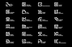 the new MIT Media Lab identity by pentagram's michael bierut and aron fay features an ML monogram and 23 sub-logos based on a grid. Corporate Design, Business Design, Corporate Identity, Identity Design, Visual Identity, Brand Identity, Design Agency, San Damian, Michael Bierut