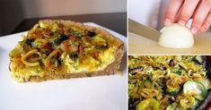 Receta saludable de Tarta multicereal de vegetales y ricota y queso..  Lee más sobre: Alimentación y Salud en La bioguía.