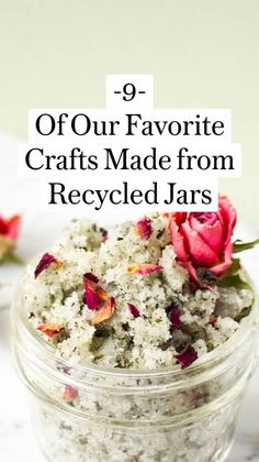 Diy Arts And Crafts, Jar Crafts, Diy Craft Projects, Diy Crafts To Sell, Home Crafts, Fairy Lights In A Jar, Jar Lights, Pumpkin Spice Candle, Recycled Jars