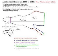 Landsknect Hosen