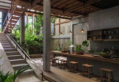 Jaw-Dropping Contemporary Homes from Across the Globe House in Chau Doc, located, of course, in Chau Doc, Vietnam. It redefines indoor-outdoor living in an urban context.