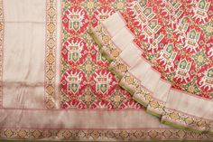 Shivangi Kasliwaal Handwoven Patan Patola Silk Sari