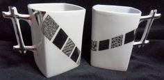 Peinture sur porcelaine: Tasses pour cadeau personnalisé