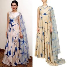 Karishma Kapoor looks ethereal in this easy breezy collection by Anoli Shah Design Inc #getthelook #shopthelook #celebcloset #celebstyle #bollywood #celebrity #karishmakapoor #perniaspopupshop #happyshopping