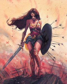Image about wallpaper in -DC Comics- by Yeny BurgosC Comic Book Characters, Comic Character, Comic Books Art, Comic Art, Arte Dc Comics, Dc Comics Art, Archie Comics, Wonder Woman Fan Art, Wonder Woman Kunst