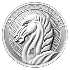 Royal Canadian Mint $10 2014 Fine Silver Coin - Year of the Horse $39.95 #coin…