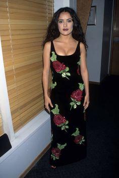 Salma Hayek Get premium, high resolution news photos at Getty Images Salma Hayek Joven, Estilo Salma Hayek, Salma Hayek Young, Salma Hayek Style, Salma Hayek Body, Celebrity Photos, Celebrity Style, Salma Hayek Pictures, 90s Fashion