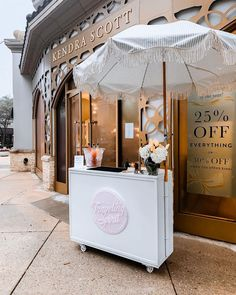 Bring on the Bubbly! ✨ 🥂🍾🥂🍾🥂🍾🥂🍾🥂🍾 The Bubble Bar is the perfect addition to any celebration! Offering Prosecco on tap and your choice of fresh juices! DM or Email for pricing and more info. Mobile Coffee Cart, Mobile Cocktail Bar, Food Cart Design, Ice Cream Cart, Future Shop, Kiosk Design, Coffee Carts, Mobile Bar, Rental Decorating