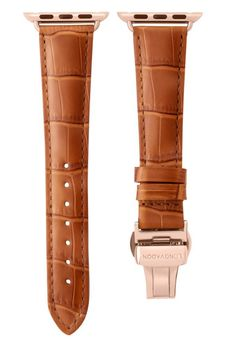 Our Whiskey Brown leather Apple Watch band has got to be one of the most attention grabbing ones in the series. Leather Buckle, Suede Leather, Brown Leather, Apple Watch Accessories, Leather Accessories, Luxury Wedding Gifts, Expensive Watches, Dapper Men, Leather Watch Bands