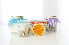 DIY Lavender Bath Salts, citrus salt, herbes de provence salt, vanilla bean sugar, wedding and baby shower favors, Christmas gifts, do-it-yourself, handmade with love
