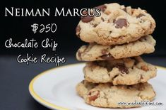 """Neiman Marcus $250 Chocolate Chip Cookie Recipe    """"I do add about 1 cup of Heath bar to mine."""""""
