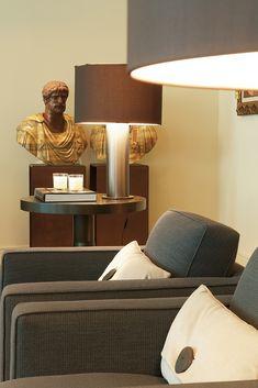 Piso Barcelona - Lighting, Home Decor, Dark Wood, Fire Places, Flats, Decoration Home, Room Decor, Lights, Home Interior Design