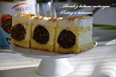 ,,SERNIK Z KULKAMI MAKOWYMI'' | Cheesecake, Food, Food And Drinks, Bakken, Cheese Cakes, Eten, Cheesecakes, Meals, Diet