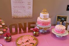 Richly Blessed: Emery's 1st Birthday Party!