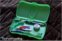 Top 12 ideas for using Huggies travel wipe containers for storage and organization while traveling.