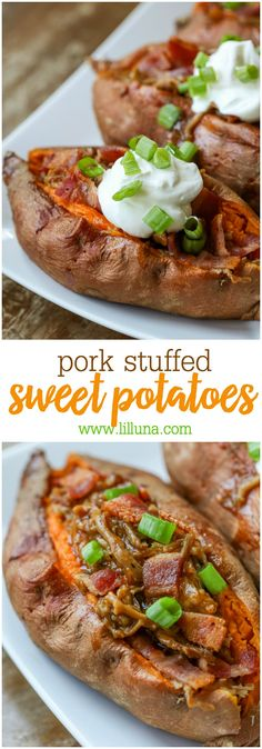 Pork Stuffed Sweet P
