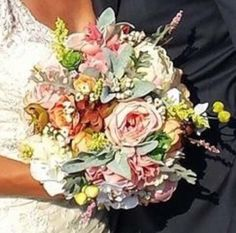 A personal favorite from my Etsy shop https://www.etsy.com/listing/249527168/custom-made-silk-flower-bouquet-and