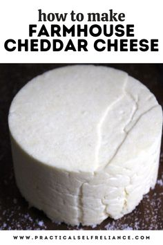 Goat Milk Recipes, Cheese Recipes, Whole Food Recipes, Raw Milk, Fresh Milk, Cultured Buttermilk, Cheese Curds, Homemade Cheese, How To Make Cheese